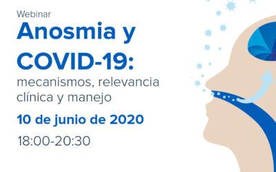 Anosmia y COVID-19: mecanismos, relevancia clínica y manejo